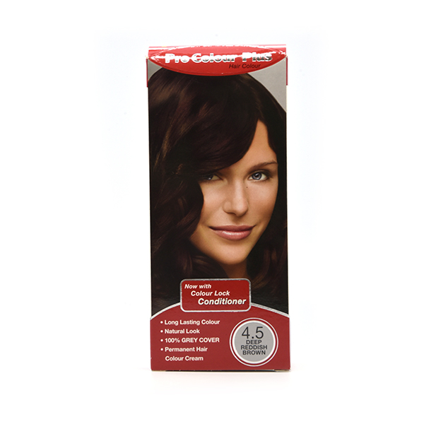 Pro Colour Plus Deep Reddish Brown Hair Colour 4 5 Healthpoint